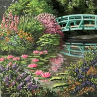 A Bridge in Monet's Garden