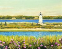 Late Afternoon at Edgartown Light