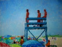 Lifeguards at Katama Beach #1