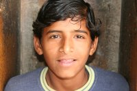 Young Man in India