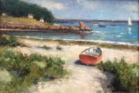 Owen Park - Red Dinghy