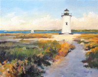 Path to Edgartown Light