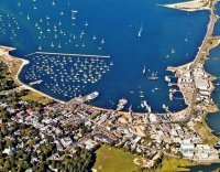 Vineyard Haven from the Air