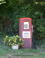 Ole Gas Pump on North Road