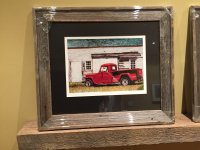 Thornton's '48 Willy's Truck Custom Archival Print/Artist Proof