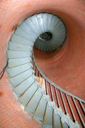 West Chop Lighthouse Stairwell