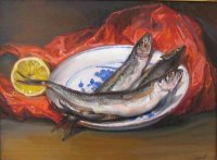 Still Life with Smelts