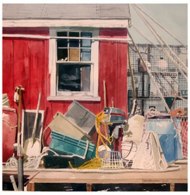 John Holladay - Red Shack in Menemsha