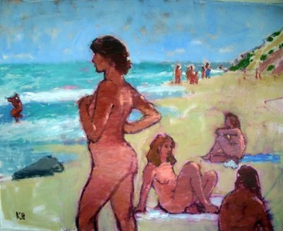 Kate Huntington - Sunbathers at Gay Head