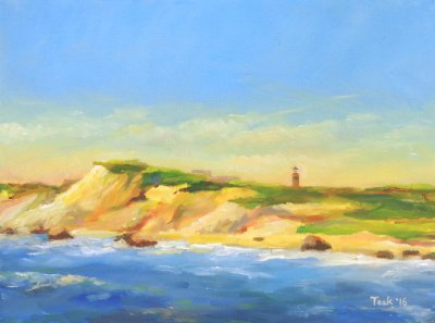 Teek Eaton-Koch - Aquinnah Afternoon