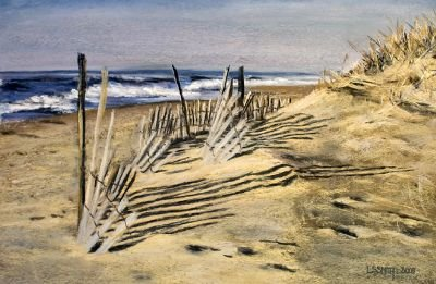 Leslie S. Smith - Beach Shadows