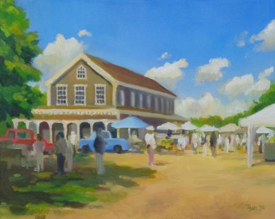 Teek Eaton-Koch - Farmer's Market at Old Agricultural Hall