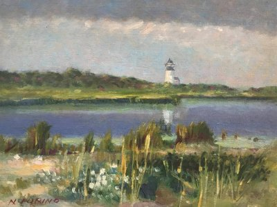 Nancy Furino - Cape Pogue Light