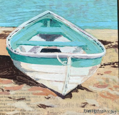 John Holladay - Light Blue Boat
