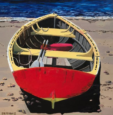 John Holladay - Red Rowboat