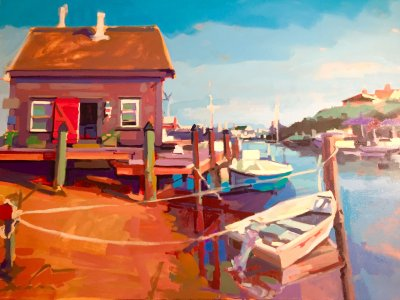 Nick Paciorek - Red Door Docking - Menemsha