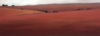 Christie Scheele - Red Field White Sky