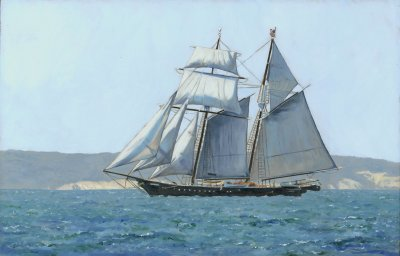 Linda Besse - Sailing the North Shore