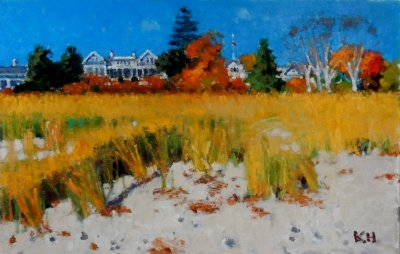 Kate Huntington - Yellow Grass, Vineyard Haven