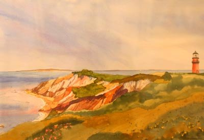 Anne Howes - Gay Head Cliffs