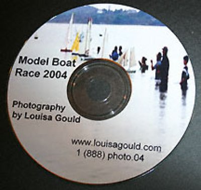 Louisa Gould - Vineyard's model boat race