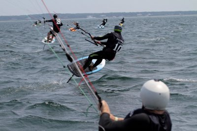 Louisa Gould - Foiling Kiteboard